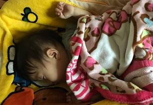 子どもの睡眠のイメージ